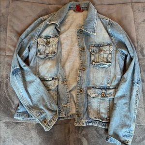 H&M jean jacket.